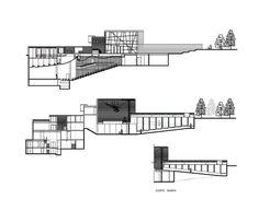 Museo, Centro Cultural y Teatro Carabineros de Chile,Corte 1