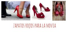 Zapatos rojos. Ideas para bodas en San Valentín