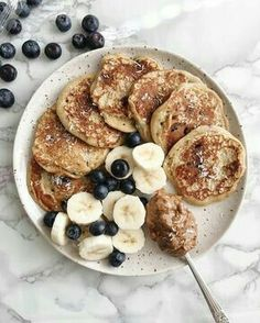 Recipes Snacks Lunch Ideas For my college kids! How to care for yourself in a new school year - New Ideas - Healthy eating - Healthy Breakfast Recipes, Healthy Snacks, Healthy Recipes, Breakfast Ideas, Breakfast Fruit, Pancake Recipes, Breakfast Pancakes, Fruit Recipes, Banana Pancakes