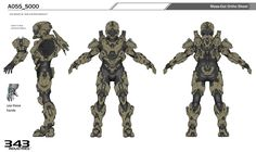 ArtStation - Halo 5- Recluse Armor design, Kory Hubbell