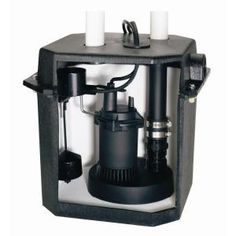 Flotec 6 Gal Sink Tray System With 1 4 Hp Sump Pump Fp0s1800lts At The Home Depot Mobile Sump Pump Laundry Sink Sink