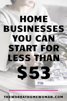 Updated for Do you want to start your own business, but you're living on a tight budget? Work From Home Opportunities, Work From Home Jobs, Make Money From Home, Make Money Online, How To Make Money, Home Based Business, Business Tips, Online Business, Business Names