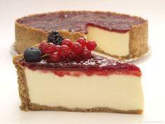 New York Cheesecake (Tarta de queso americana) Cheesecake Thermomix, Thermomix Desserts, Cheesecake Cake, Homemade Cheesecake, Classic Cheesecake, Baking Recipes, Cake Recipes, Dessert Recipes, Delicious Deserts