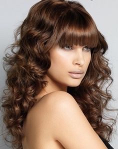 Chic Big Curls Long Hair Style 2014