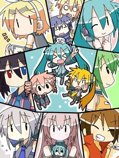 Vocaloids and utaloids