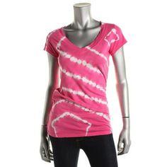 International Concepts Womens Tie-Dye Embellished T-Shirt