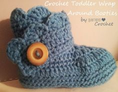 Quartered Heart Crochet: Free Crochet Pattern: Toddler Wrap Around Boots So cute!!