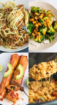25 best vegetarian recipes that are always a hit! Easy and always delicious meatless meals. Vegetarian cooking ideas for everyone! Vegetarian Meal Prep, Tasty Vegetarian Recipes, Vegan Recipes Easy, Paleo, Tofu, Tempeh, Vegan Recipes Beginner, Vegan Recipes Videos, Shawarma