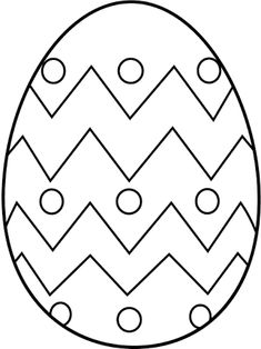 free online easter egg 4 colouring page easter pinterest easter egg and free - Easter Egg Printables