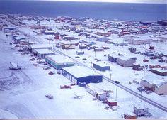 Barrow Alaska from the airport...