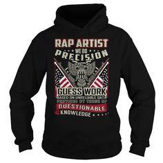 Rap Artist Job Title T-Shirt