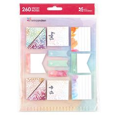 Snap-in StylizedSticky Notes painted petals