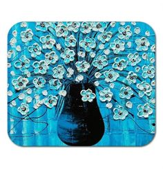 Mousepad Gel Mouse Pad Fine Art Painting by AmberElizabethArt