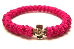 The Dark Pink Prayer Bracelet by 33Knots, a cool #ReligiousBracelet $14.99 prayer-bracelet.com
