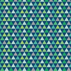 Triangles_Galore_blue fabric by stacyiesthsu on Spoonflower - custom fabric