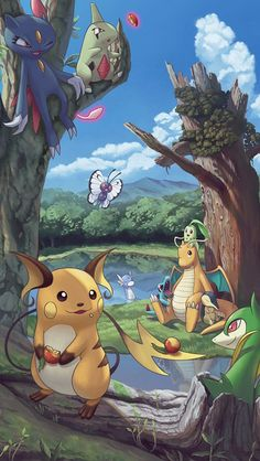 pokemon wallpaper Digimon Adventure is part of Digimon Adventure Wallpapers Wallpaper Cave - 47 wallpapers de Pokémon pra fazer seu celular evoluir MONSTERBOX Pokemon Go, Pikachu Pikachu, Pokemon Legal, Pokemon Fan Art, Pokemon Cards, Pokemon Fusion, Anime Comics, Marvel Comics, Photo Pokémon