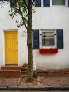Mondrian inspired house