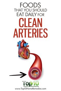 10 Foods that You Should Eat Daily for Clean Arteries