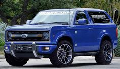 2018 Ford Bronco Specs and Performance - The 2018 Ford Bronco will be a decent choice of your future SUV vehicle. Ford is a renowned auto maker