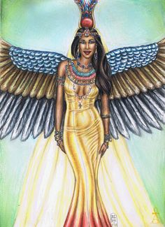 Egyptian Goddess by MyWorld1 on DeviantArt