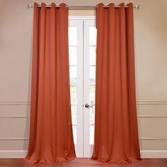 burnt orange striped sahaj jute tab top curtains set of 2 tab top curtains and orange curtains
