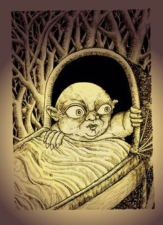 Changeling- medieval folklore: a fairies baby that was swapped with a human baby. They did this to prevent inbreeding; adding new blood to humans and fairies. It is also said that sometimes, really old fairies would be swapped so that it could live in comfort in its last days. Simple charms or constant watch would ward off the fairies.