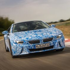 2014 BMW i8 hybrid super coupe. PopMech's test drive: