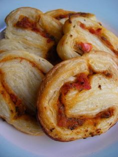 Savory Tomato Basil Palmiers    foodnetwork