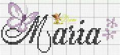 Cross Stitch Alphabet, Cross Stitch Patterns, Sorority Letters, Butterfly Cross Stitch, C2c Crochet, 3d Origami, Le Point, Cross Stitching, Beading Patterns