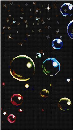 Bubbles Cross Stitch | Mystery xstitch Chart | Design
