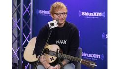 Ed Sheeran performed his two new singles Shape of You and Castle on the Hill during SiriusXM Hits 1's The Morning Mash Up.