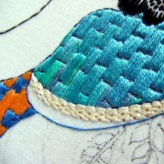 fine needlework . . . beautiful