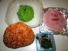 Sandwich med Skinke og Ærtespread