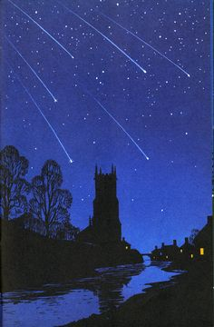 Ladybird Book - The Night Sky.  Published 1965.Illustrations by Robert Ayton