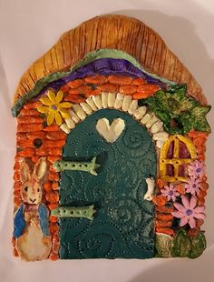 I signed up for a 10 week beginner's ceramic course at the Killaloe Ballina Family Resource Centre late last year and had a wonderful time p. Play Clay, Miniature Houses, Painted Rocks, Miniatures, Ceramics, Painting, Art, Ceramica, Art Background