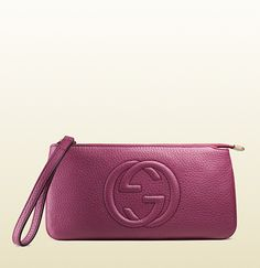 soho leather wrist wallet