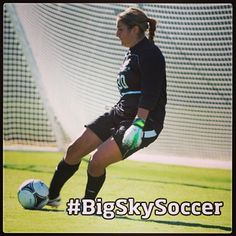 SAC's Kimberly Mata is this week's co-defensive soccer player of the week after making 9 saves in two shutouts over the weekend #BigSkySoccer #StingersUp @Sacramento State Athletics