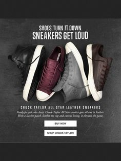 Chuck Taylor - Shoes - Beautiful Email Newsletters