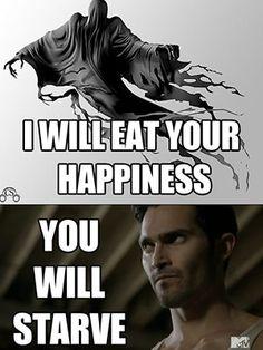 Teen Wolf, Derek Hale Dementor Meme