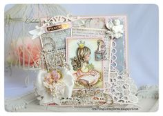 Crafting Life's Pieces: CLP-58 May's Sketch Challenge - Precious Moments Card