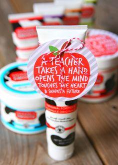 Udderly Smooth Teacher Appreciation Gift Idea