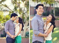 Shawn & Teresa {Engagement Photos} Grand Hope Park | Downtown Los Angeles » Lukas & Suzy International Wedding Photographers