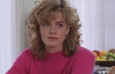 Elisabeth Shue as Chris Parker in Adventures in Babysitting Elisabeth Shue, Adventures In Babysitting 1987, A Writer's Life, Hollywood, Feathered Hairstyles, Celebs, Actors, Female, Collection