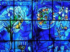 Chagall Window, Art Institute of Chicago