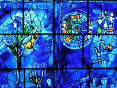 One of my all time favorite artists, Chagall Window, Art Institute of Chicago. Stunning beautiful!
