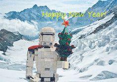 ~ Lego Mocs Holidays ~ Happy New Year!!!   by LupusAuratus