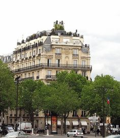 Rooftop Garden in the Trocadero area, Paris 16e