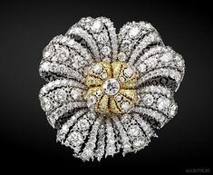 Buccellati Diamond Brooch