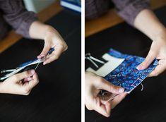 Bookbinding 101: Japanese Four-Hole Binding | Design*Sponge