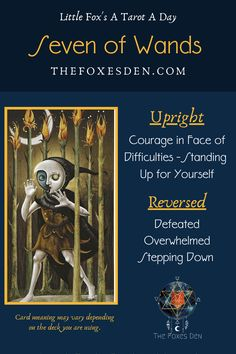 Stand Up For Yourself, Tarot Card Meanings, Tarot Readers, Major Arcana, Tarot Decks, Tarot Cards, Wands, Meant To Be, Hearts